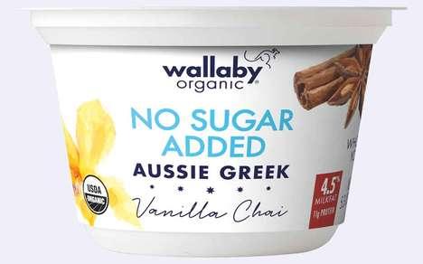Fruit-Sweetened Australian Yogurts