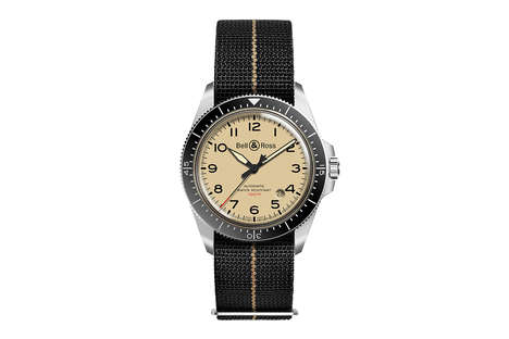 Militaristic Satin-Polished Watches