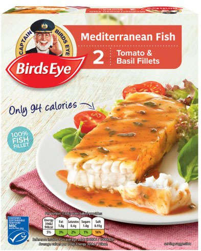 Low-Calorie Mediterranean Fish Fillets
