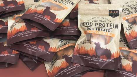 Cultured Meat-Free Dog Treats