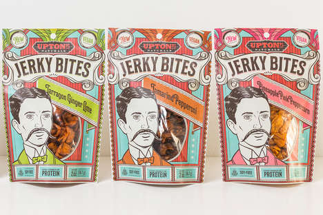 Vibrant Vegan Jerky Snacks