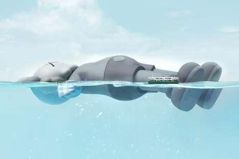 Massive Floating Traveling Installations