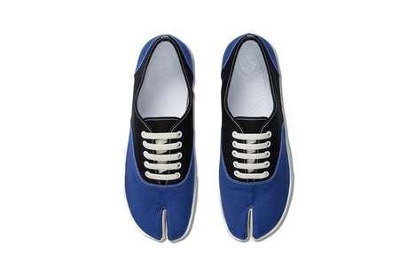 Luxurious Split-Toe Sneakers