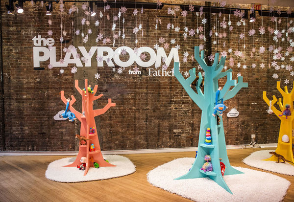 Playful Parental Pop-Ups - The Playroom by Fatherly is an Interactive Holiday Activation