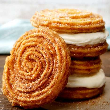 Sweet Cinnamon Churro Buns