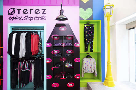 Whimsical Gen-Z Retailers