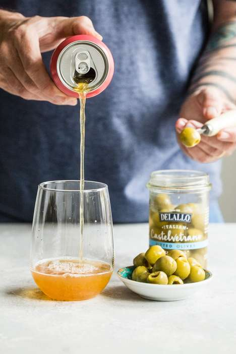 Beer-Paired Olive Snacks
