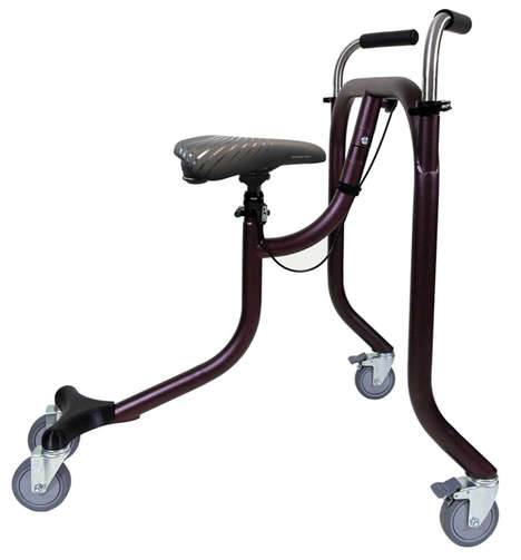 Hands-Free Mobility Aids - BiKube is a Seated Walker That Supports Increased Independence at Home