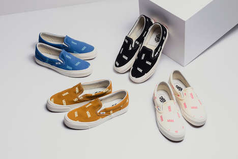 All-Over Logo Slip-On Shoes
