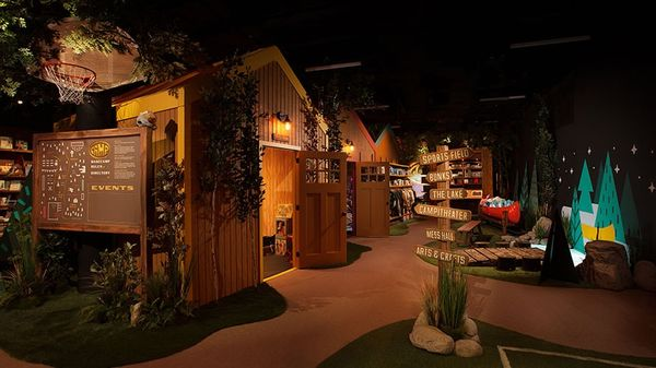 Kid-Focused Experiential Retail - Camp is a Highly Active and Immersive Retail Experience for Kids