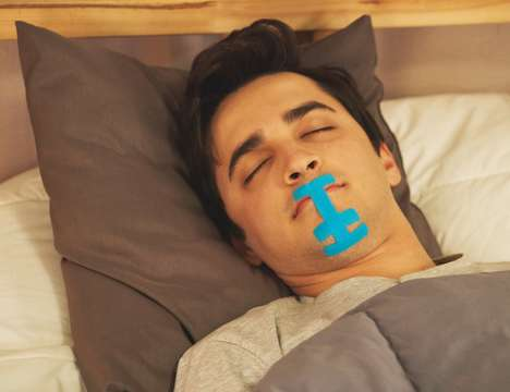 Overnight Mouth-Securing Bands