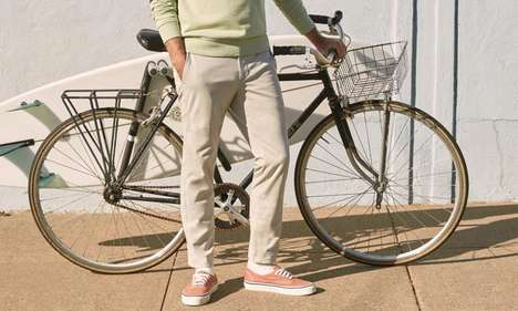 Formal Four-Way Stretch Slacks