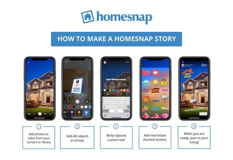 Real Estate Story Videos - Homesnap's Stories Marketing Feature Helps Agents Create Dynamic Listings