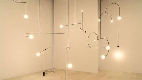 Contemporary Lighting Design Exhibits