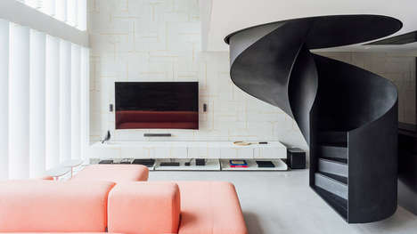 Modern Integrated Apartment Spaces