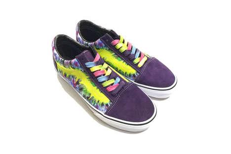 Vibrant Tie-Dye Sneakers