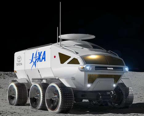 Martian Terrain Exploration Vehicles