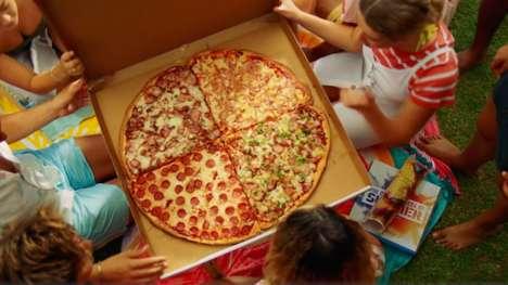 Delivery-Unfriendly Gigantic Pizzas