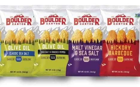 Landscape-Inspired Snack Branding