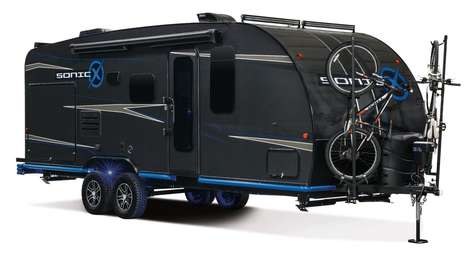 Carbon Fiber Camping Trailers