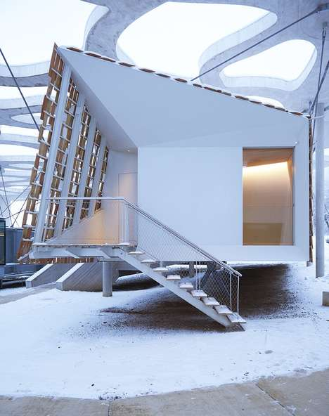 Suspended Timber Cabins