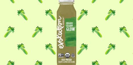 Cold-Pressed Celery Juices