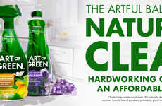Naturally Derived Household Cleaners - 'Art of Green' Aims to Democratize Green Cleaning for All