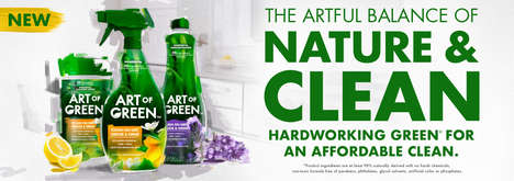 Naturally Derived Household Cleaners