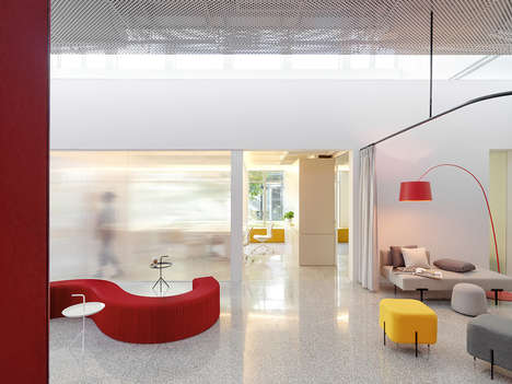 Accented Primary Color Interiors