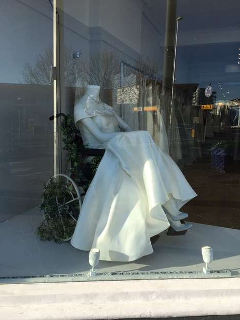 Inclusive Bridal Store Displays
