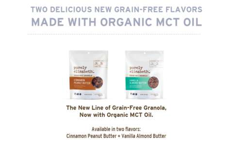 MCT Oil-Infused Granolas