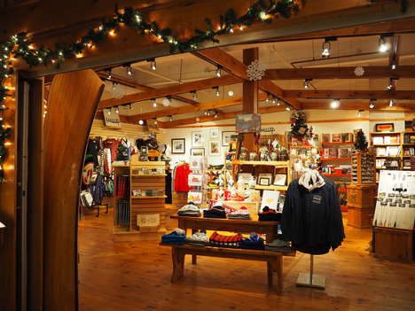 Handcrafted Honoring Gifts - The Tumblehome Gift Shop in The Canadian Canoe Museum Has Unique Goods