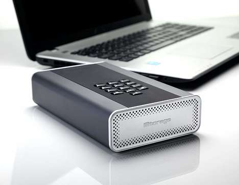 Military-Grade Encryption Drives - The iStorage diskAshur Encrypted Hard Drive is Ultra-Secure