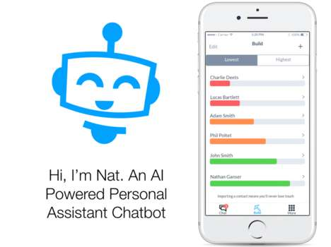 Relationship-Fostering Chatbots - 'Nat Bot' Helps Users Keep Track of Pertinent Info and More