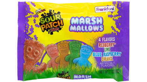 Airy Sour Candy Marshmallows