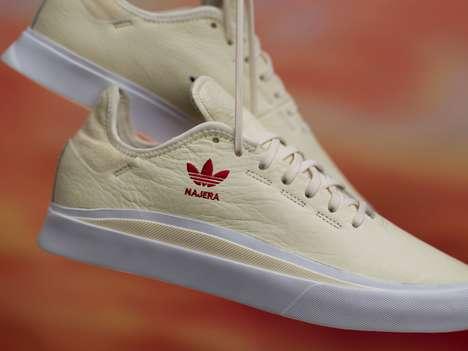 Cream-Colored Skate Footwear