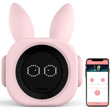 Youngster Sleep Training Clocks - The VOBOT Smart Sleep Trainer Connects to Amazon Alexa