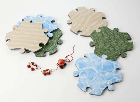 Motor Skill-Improving Puzzles - The Satyendra Pakhalé Puzzle Carpet is for Children Aged Two to Six