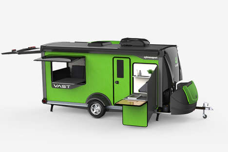 Reimagined Versatility Camping Trailers