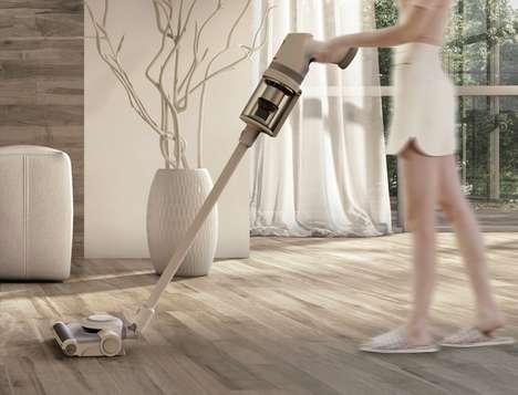 integrated vacuum cleaner