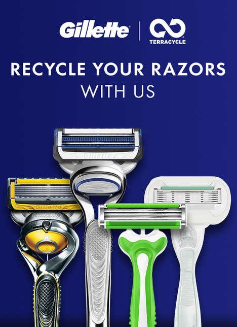 National Razor Recycling Initiatives