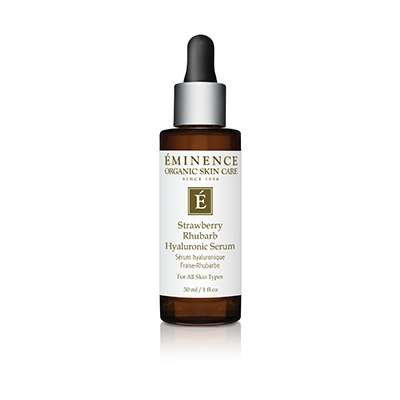 Vitamin-Packed Hyaluronic Serums - The Facial Serum by Eminence Results in a Glowing Complexion