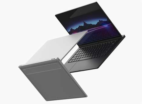 Dock-Accompanied Gaming Laptops