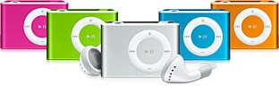 Color iPod Shuffles?