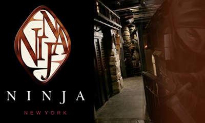 Ninja Themed Restaurant