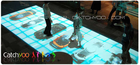 Interactive Tables and Floors - Catchyoo's Cool Projection System