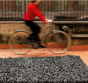 Recycled Rugs - Nanimarquina Rug From Rubber