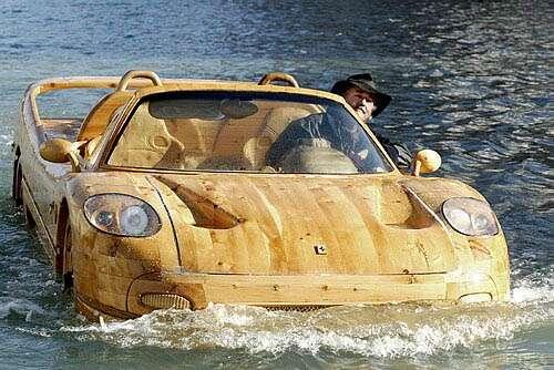Ferrari F50 Boat The Only Ferrari You Can Drive in Venice