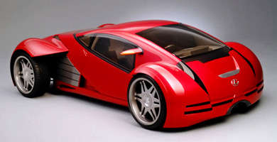 Lexus 2054 Concept From Minority Report on Sale at Ebay