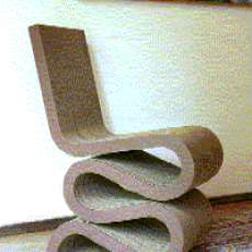 Corrugated Cardboard Furniture16 Clever Cardboard Chairs. Famous Architect Chairs. Home Design Ideas
